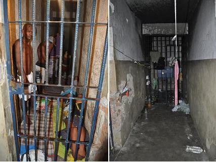 Após o último motim de presos no ano passado, carceragem de Jequié conta apenas com um espaço para a manutenção dos detentos