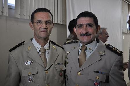 O Tenente Coronel Gilmar assumiu o cargo substituindo pelo Tenente Coronel Jorge Ubirajara Pedreira (Foto Blog do Anderson)