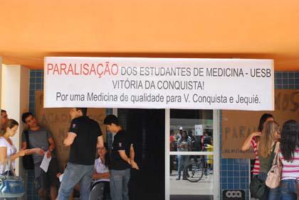 Atividades do curso de medicina da Uesb em Conquista permanecem suspensas