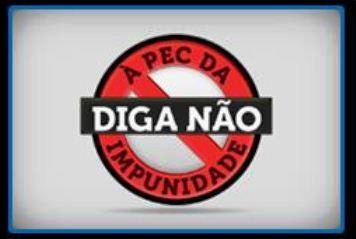 Campanha contra aprovação da PEC 37 durante o mês de abril