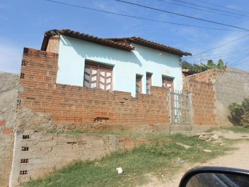 Crime ocorreu num cômodo no fundo desta casa no Bom Sossêgo