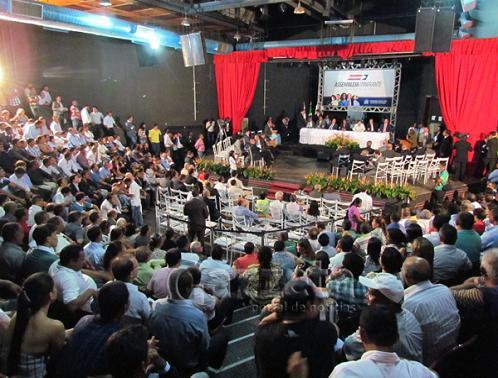 População tem acesso livre às reuniões da Assembleia Itinerante (reprodução)
