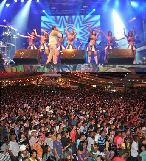 Aviões do Forró arrancou o delírio do público subindo ao palco às 22h20