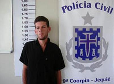 Fabiano foi preso em companhia de um parceiro quanto tentava assaltar em Conquista