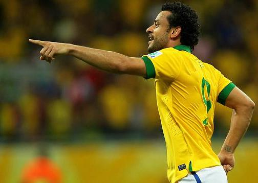 Atacante Fred marca dois gols na vitória brasileira (Wagner Carmo/Divulgação/Vipcomm)