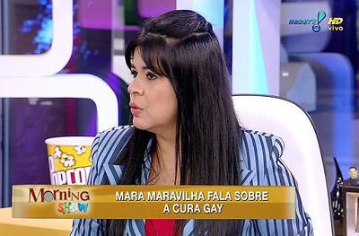 A baiana Mara é evangélica, diz que disse que acredita na cura gay e defende Marco Feliciano
