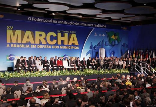 Ultima mobilização de prefeitos em Brasília ocorreu em maio passado