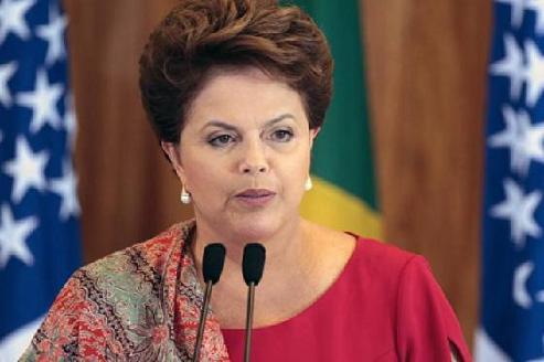 Desde o início dos protestos, a presidente Dilma se manifestou uma única vez sobre o assunto