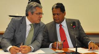 Ministro Alexandre Padilha em um dos encontros com o deputado Antonio Britto (PTB/Ba)