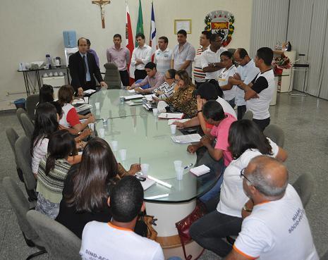 Prefeita Tânia Britto não compareceu à reunião conduzida pelo Procurador Geral Marcos Antônio Santana Neves