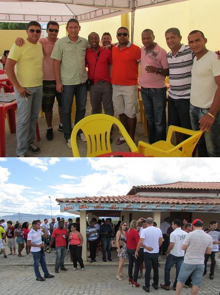 PMs que trabalham em unidades da região vieram participar da festa