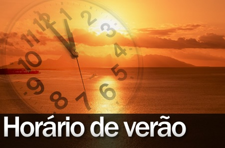 O horário de verão começa no próximo dia  20 de outubro