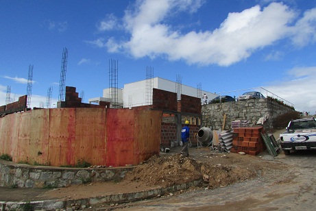 Novo módulo está sendo construído na Santa Casa de Jequié