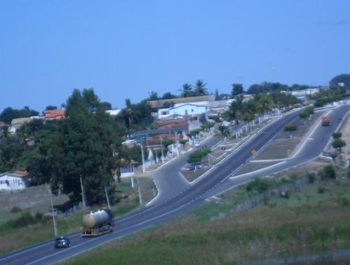 BR-116 no Entroncamento de Jaguaquara é um dos trechos com previsão de fechamento (foto blog Piropinho)