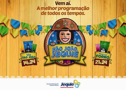 Cartaz de divulgação da festa divulgado pela Secretaria de Cultura e Turismo