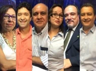Seis candidatos ao governo estadual confirmaram presença no debate