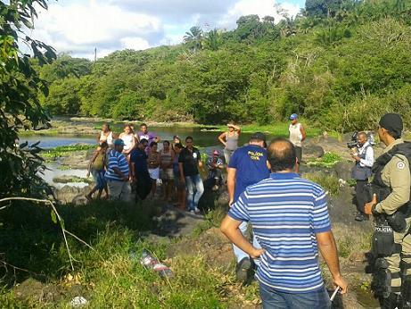 Corpo do sindicalista foi encontrado de bruços em um rio (foto reprodução)