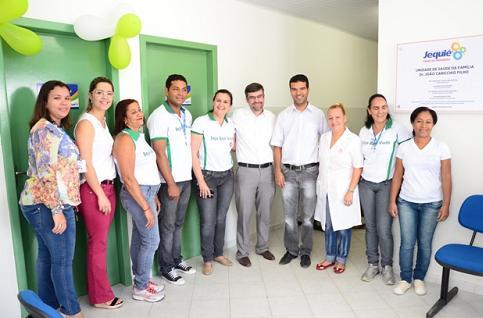 Secretário de Saúde Heber Araújo Filho acompanhou as atividades da Feira de Saúde