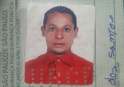 Amilton Manoel dos Santos,  já havia sido preso por tráfico de drogas (foto Marcos Frahm)