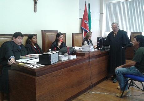 Julgamento de mais um processo originário de Itagí na Comarca de Jequié