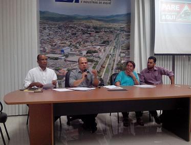 Presidente do Conselho Comunitário explanou sobre a campanha. Prefeita Tânia Britto esteve presente
