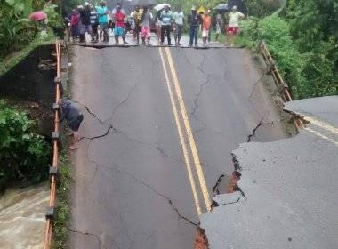 A ponte compõe um dos principais acessos a cidade e aos municípios de Itacaré e Maraú (foto reprodução Bahia Notícias)