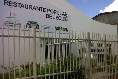 Restaurante Popular de Jequié se mantém fechado desde janeiro de 2013 (foto reprodução)