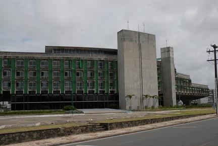 Prédio da Secretaria de Educação onde o corpo de André Luiz foi encontrado