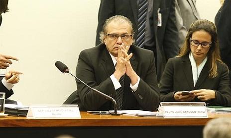 Barusco confirmou que negociava com tesoureiro do PT e reiterou que começou a receber comissão nos anos 90. (foto  Pedro Ladeira/Folhapress)