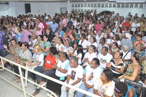 Grande número de pessoas lotou as dependências da Câmara