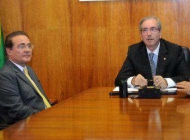 Renan Calheiros e Eduardo Cunha, estão inseridos na lista (foto reprodução)