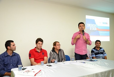 Prefeito Railton Ramos, de Itagi enfatizou a importância dos consórcios de saúde