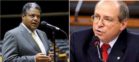 Frequência na Câmara dos Deputados: Antonio Britto, 100%. Roberto Britto, 95,50%