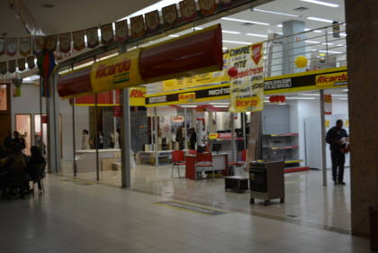 Empresa encerrou atividades no Shpping Conquista Sul (foto Blog do Anderson)