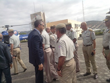 Comandantes regionais da PM, coordenadores e delegados de Polícia participam da reunião em Jequie