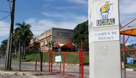 Campus que sofreu ataque de bandidos (foto reprodução)