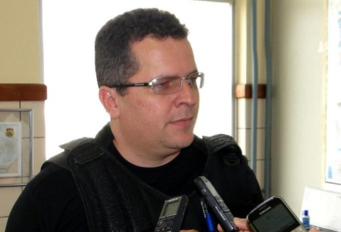 Coordenador da 9ª Coorpin, Fabiano Aurich fez relato dos crimes ocorridos no final de semana