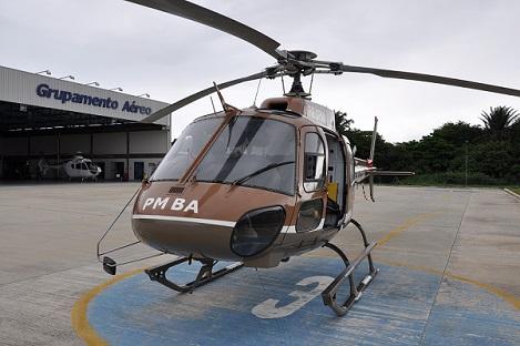 Helicóptero e policiais militares da GRAER chegam em Jequié nas próximas horas