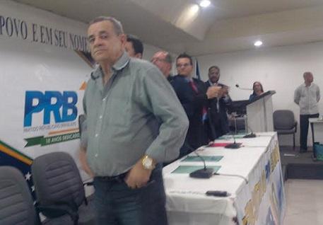 Deputado Euclides Fernandes esteve presente saudando o PRB e os deputados presentes