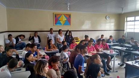Estudantes questionaram e esclareceram suas dúvidas