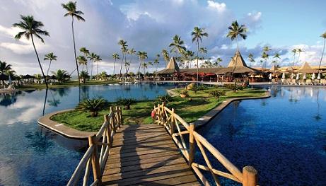 Belíssimo resort onde os prefeitos estiveram reunidos em Guarajuba