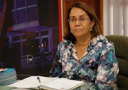 A prefeita  Tânia Britto foi citada pelo MP para pagamento da multa na quinta, 1º