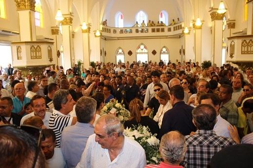 Cerimônia religiosa na Catedral de Santo Antonio