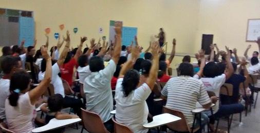 Moradores presentes apoiaram a mudança proposta