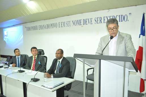 Emanuel Andrade apresentou detalhado e preocupante relato na Câmara de Vereadores