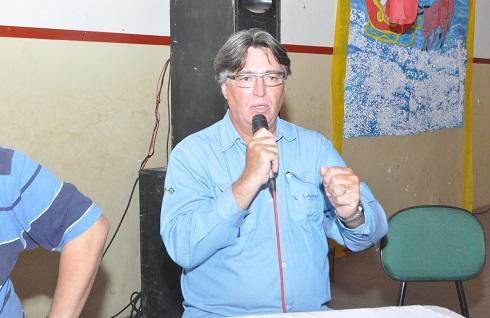 Carlos Lorenzo representando a Vanádio Maracás anunciou providências adotadas