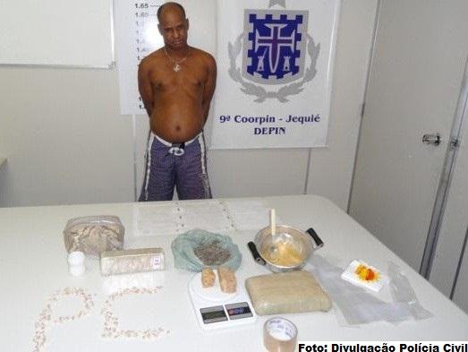 Luizinho do Acarajé foi preso ano passado por tráfico de drogas