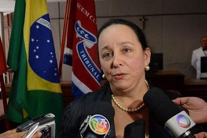 Desembargadora Maria do Socorro assumiu o TJ-BA pregando união e diálogo