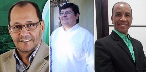 Ari Carlos, Wellington Nry e Verivaldo Santana exerceram cargos em nas duas últimas administrações