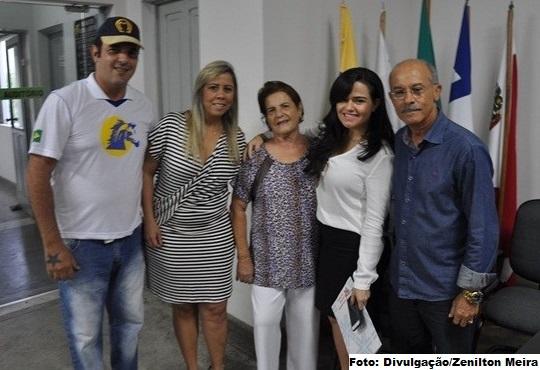 Aline Peixoto, presidente das VSBA, veio a Jequié assinar a parceria